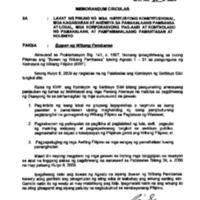 CSC MC 26, s. 2009: Buwan ng Wikang Pambansa