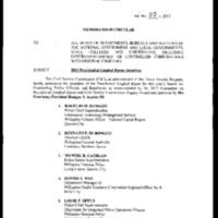 CSC MC 20, s. 2013: 2013 Presidential Lingkod Bayan Awardees